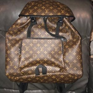 LOUIS VUITTON BACKPACK with laptop sleeve